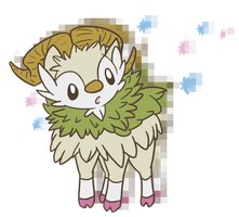 shiny skiddo by neutral-emotions