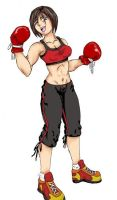 boxer chick colored by ARCrebs