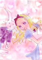 alice and the rabbit3 by chika-erfenn