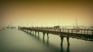 Abandoned Pier by AntonioGouveia
