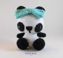 Kawaii Panda Amigurumi by SailorMiniMuffin