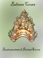 Balinese Crown by bumimanusiastock