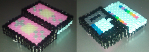 Mizu Mini DSl Perler Beads by Undertakoshi