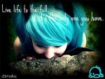 Live Life To The Full. by Zimoku