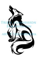 Tribal Howling Brixston COM by ShadowKira