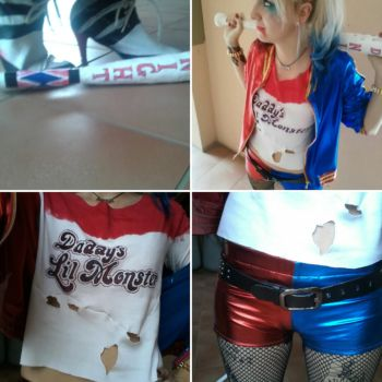 Harley Quinn Cosplay by P-C-W
