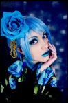 Blue    Rose by Katy-Angel