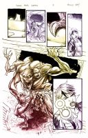 Swamp Thing Sample Page 2 by thecreatorhd