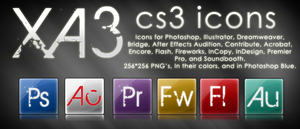 XA3 CS3 Icons by Austin8159