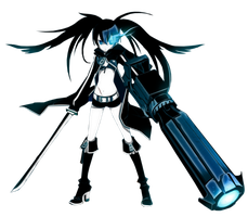 Black Rock Shooter by zenken2202