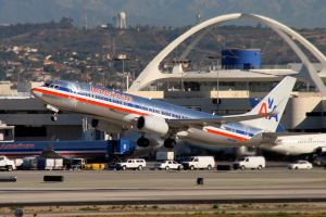 LAX 11 AA 737 by Atmosphotography
