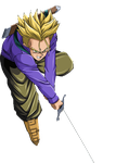Future Trunks SSJ Render by PrinceVegeta051