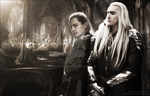 King and Prince of the Woodland Realm by Athraxas