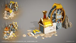 Goldmine by ogami3d