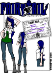 .:Fairy Tail:. Serana's Guild Card/Profile by xxEndlessSummerxx