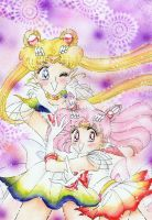 Sailor Moon e Sailor Chibiusa by ladymadge
