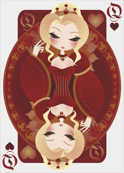 Queen of Hearts by sinagtala
