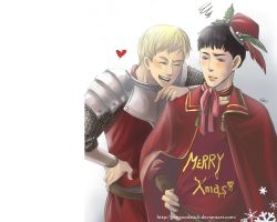 Merlin Xmas desktop by GENgoodstick