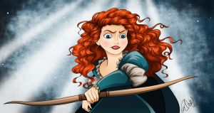 Brave: Merida by racookie3