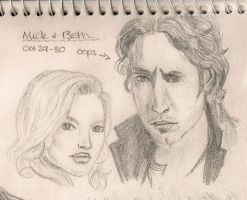 Mick and Beth by TheWuzzy