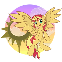 Sunset Shimmer Summer Sun Celebration by Brownie-Bytes