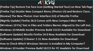 AskVG RSS by tr3g0r