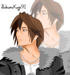 Squall/Leon icon for DA account by SakuraKage91
