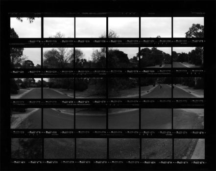 contact sheet montage five by deadpixeldesign
