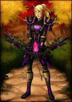 C: Blood Elf Armored by WickedJuti