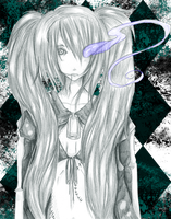 .: Black Rock Shooter X :. by capochi