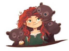 Merida by krayonyuu