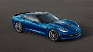 2015 Corvette C7 ZR1 FRONT SIDE view by ilPoli