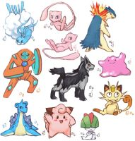 Pokemon collage 6 by emlan