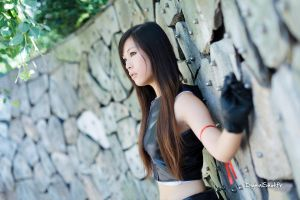 Tifa Lockhart from FF Advent Children 08 by YumiCosplay