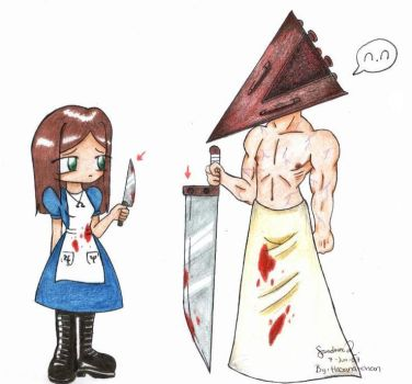 Knifes Size Difference n.n by Hasana-chan