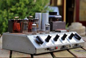 Industrial formed Single ended tube Amplifier I. by pagan-live-style