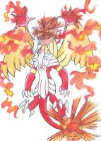 DragonFire Legendary Fakemon Contest Entry by FUNFUNFUNPRODUCTION