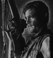 Daryl Dixon by brailynne