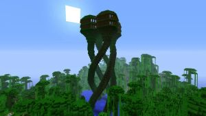XBOX 360 - Jungle Quadruple Treemansion by SlimyCraft