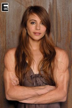 Willa Holland Girl Muscle Arms Crossed by edinaus