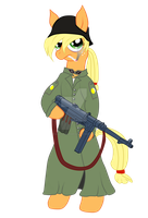 Veteran Sarge Applejack by SPIDIvonMARDER
