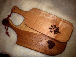 Cutting Boards 9 and 10 by Lupas-Deva