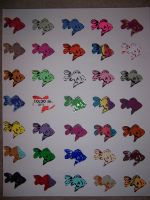 Fish Stickers 1 by mattbecher