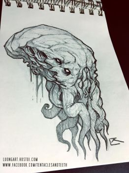 Cthulhu Drawing Tips and Advice! by TentaclesandTeeth