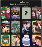 2015 Summary Of Art by AT-Studio
