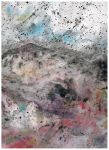 Colorful Mountains Abstract Painting by CamArtPrints