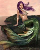 Mermaid Rock by lady-cybercat