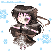Winter Lolita Girl entry- by XDemiseEmoGirlX