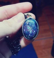 Nebulosa necklace by MadnessOfArt