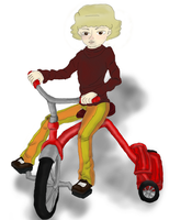 Tricycle by SpiralClue